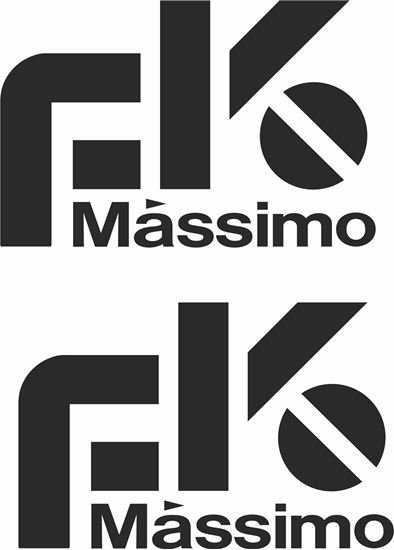 "Picture of ""Massimo"" JDM Decals / Stickers"