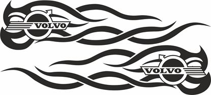 Picture of Volvo general panel / Glass  Decals / Stickers