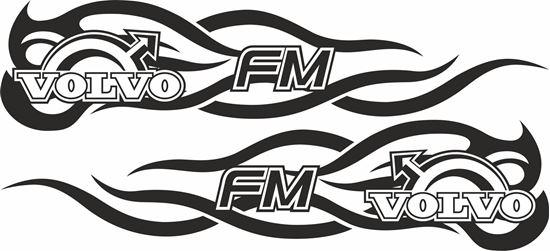 Picture of Volvo FH general panel / Glass  Decals / Stickers