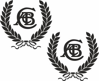 Picture of Lotus ACBC Wreath Decals / Stickers