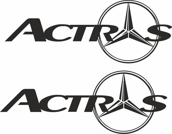 Picture of Mercedes Actros  general Panel Decals / Sticker