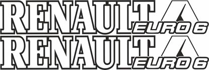 Picture of Renault Euro 6 Decals / Stickers
