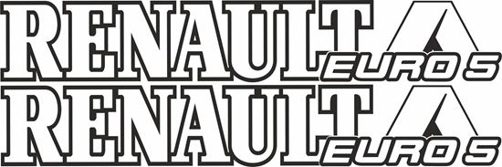 Picture of Renault Euro 5 Decals / Stickers
