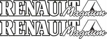 Picture of Renault Magnum Decals / Stickers
