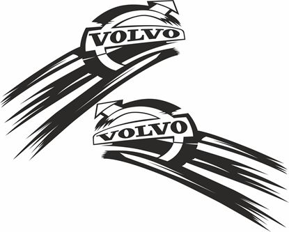 Picture of Volvo side Decals / Stickers