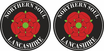 Picture of Northern Soul Lancashire general Panel Decal / Stickers