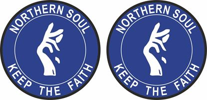 Picture of Northern Soul Scotland general Panel Decal / Stickers