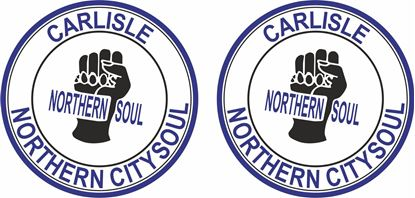 Picture of Northern Soul Carlise general Panel Decal / Stickers