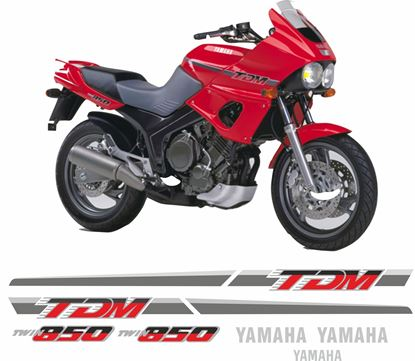 Picture of Yamaha TDM 850 1991 - 1995 replacement Decals / Stickers