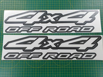 "Picture of Nissan Navara / Frontier / Terrano  ""4x4 off road"" replacement Decals / Stickers"