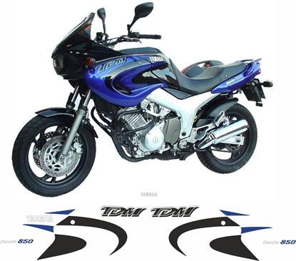 Picture of Yamaha TDM 850 2000 - 2001 Replacement Decals / Stickers