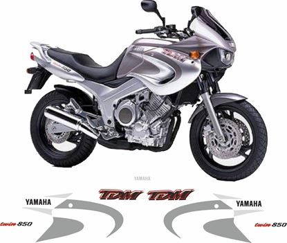 Picture of Yamaha TDM 8502000 - 2001 Replacement Decals / Stickers