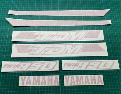 Picture of Yamaha TDM 850 1991 - 1995 replacement one colour Decals / Stickers