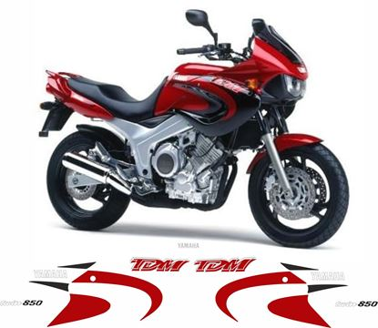 Picture of Yamaha TDM 850 2000 -2001 Replacement Decals / Stickers