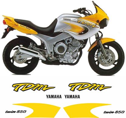 Picture of Yamaha TDM 850 1996 - 1997 Replacement Decals / Stickers