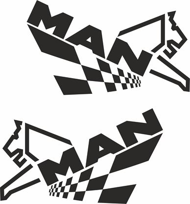 Picture of MAN General Panel / glass Decals / Stickers