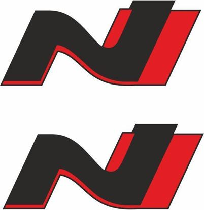 "Picture of Kia ""N Line"" Decals / Stickers"