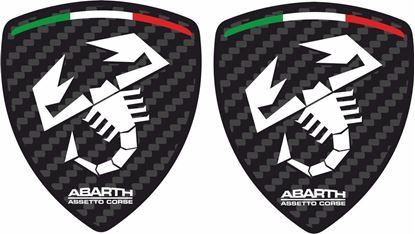 Picture of Fiat  Abarth Assetto Corse Decals / Stickers
