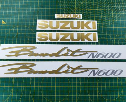 Picture of Suzuki Bandit N600  Replacement Decals / Stickers