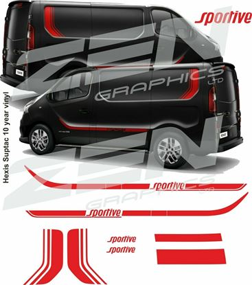 Picture of Vauxhall Vivaro Sportive Graphics kit
