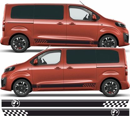 Picture of Vauxhall Vivaro side Stripes / Stickers