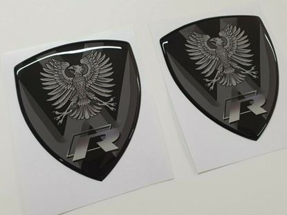 """Picture of """"R""""   Wing or General panel Gel Badges"""