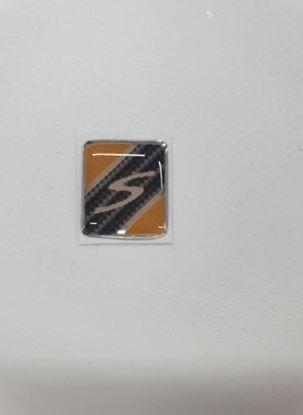 "Picture of Vespa ""S"" Front Mudguard Crest Badge"
