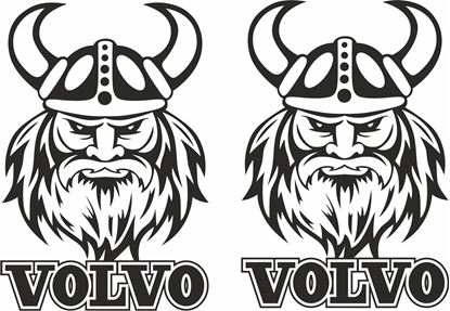 Picture of Volvo  Swedish Viking panel  Stickers / Decals