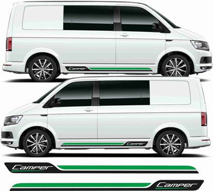 "Picture of VW T5 / T6 ""Camper"" Stripes / Stickers"
