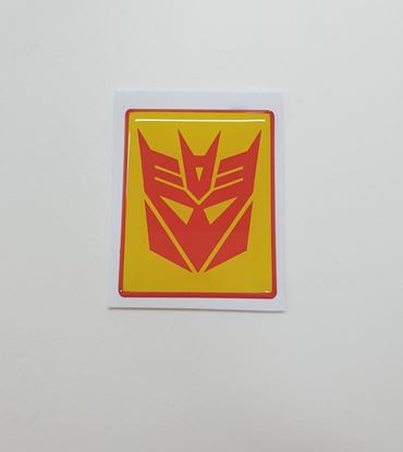 Picture of Vespa Decepticon front Fairing Horncast insert for Badge Holder