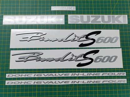 Picture of Suzuki  Bandit GSF 600S 1997 2000 replacement Decals / Stickers