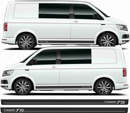 Picture of VW T5 Camper side Stripes / Stickers
