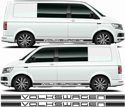 Picture of VW T5 / T6 side Stripes / Stickers