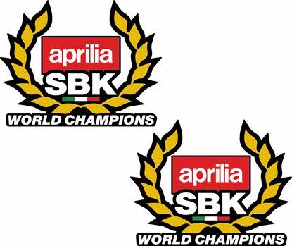 Picture of Aprilia SBK World Champions Decals / Stickers