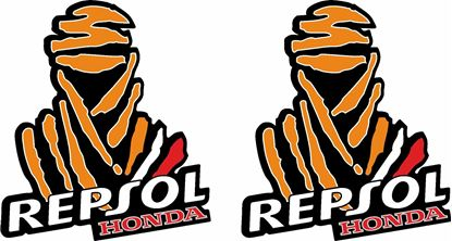 Picture of Honda Repsol Dakar Decals / Stickers