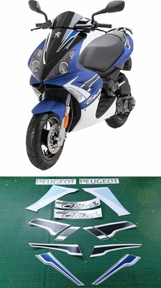 Picture of Peugeot Jet Force 50cc replacement  Decals / Stickers