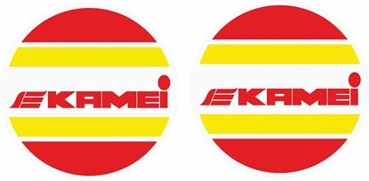 """Picture of Golf MK2 """"Kamei"""" Hella spot Light cover Decals / Stickers"""