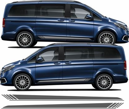 Picture of Mercedes V Class side Stripes / Stickers