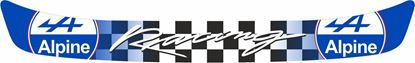 """Picture of """"Alpine Racing"""" Helmet Visor Strip"""