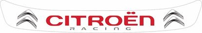 """Picture of """"Citroen Racing"""" Helmet Visor Strip"""