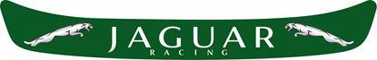 "Picture of ""Jaguar Racing"" Helmet Visor Strip"