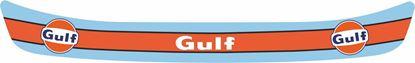 "Picture of ""Gulf"" Helmet Visor Strip"