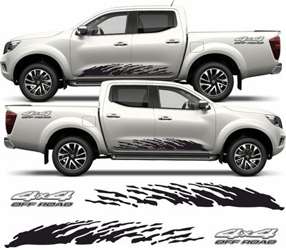 Picture of Nissan Navara side Graphics / Stickers