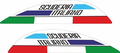 "Picture of Vespa ""Scuderia Italiano"" Decals / Stickers"