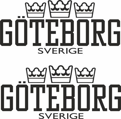 "Picture of Volvo / Scania  ""Goteborg Sverige ""Decals / Stickers"