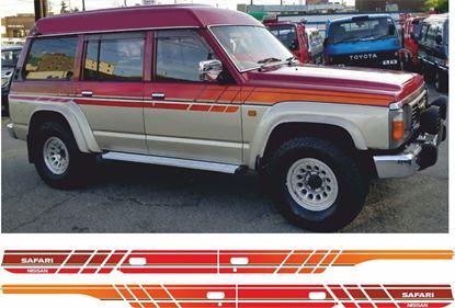 Picture of Nissan safari Patrol 1990 -1991 Stripes / Stickers