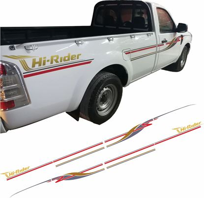 "Picture of Ford Ranger ""Hi-Rider"" side Stripes / Stickers"
