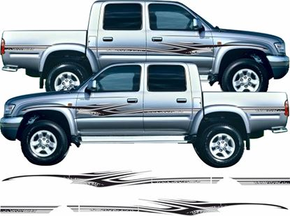 Picture of Toyota Hilux 1994 - 05 side Stripes  /  Stickers