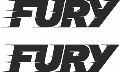 "Picture of Isuzu D-Max ""Fury"" replacement lower doors Decals / Stickers"
