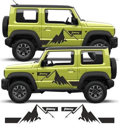 Picture of Mountain side Decals / Stickers